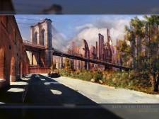 Puente en la ciudad