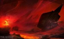 Wallpapers, Instalaciones en el rio de lava