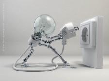 robot ampolleta