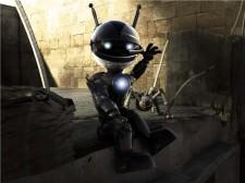 robot saludando