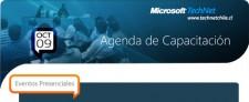 Agenda de Capacitación TechNet Santiago