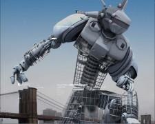 Robot en la ciudad