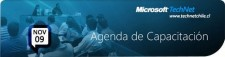 Agenda Technet Webcast