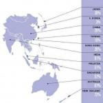 Google en Asia y Oceanía