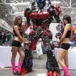 Transformers Optimus reciclado 01