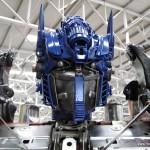 Transformers Optimus reciclado