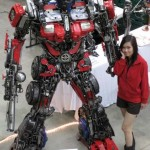 Transformers Optimus reciclado 05