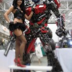 Transformers Optimus reciclado 07