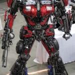 Transformers Optimus reciclado 09