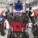 Transformers Optimus reciclado 11