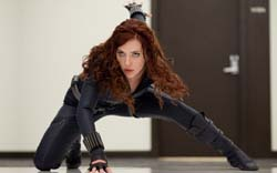 Wallpapers, Scarlet Johanson Iron Man 2