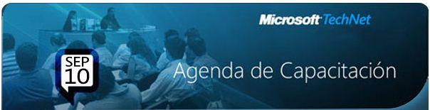 Agenda de Capacitacion TechNet Chile