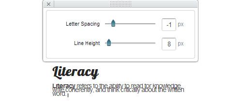 Tipografía para Web