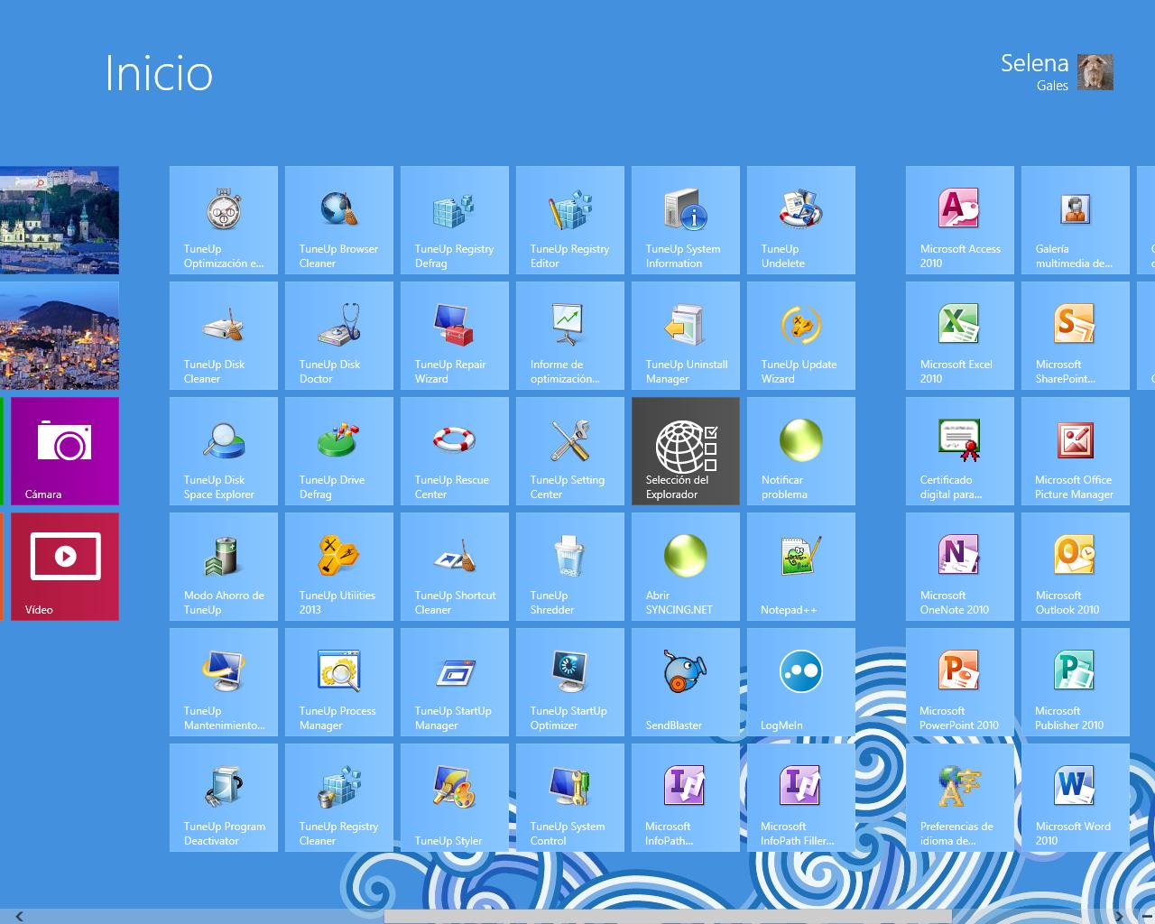 Win8 Inicio