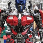 Transformers Optimus reciclado 04