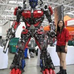 Transformers Optimus reciclado 06