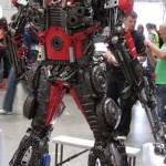 Transformers Optimus reciclado 10